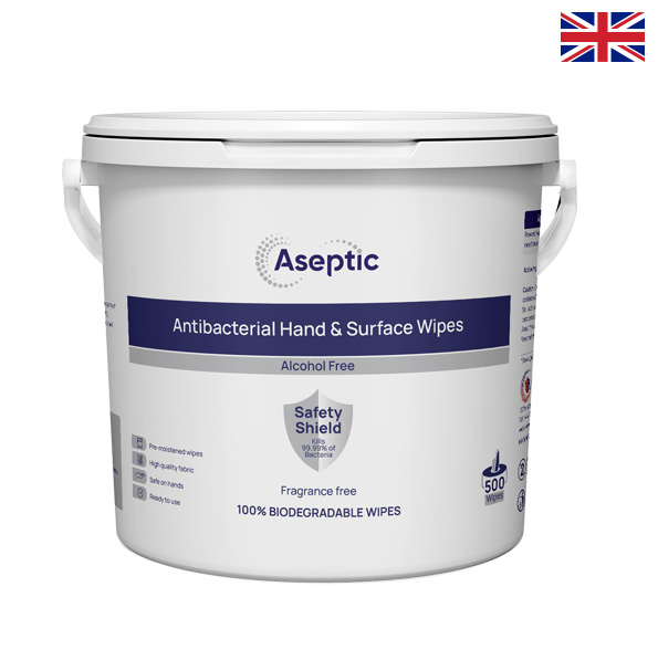 Hand and Surface Bucket wipes